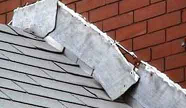 flashing & soffit repair