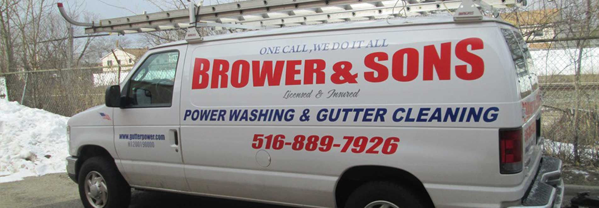 Brower & Sons truck